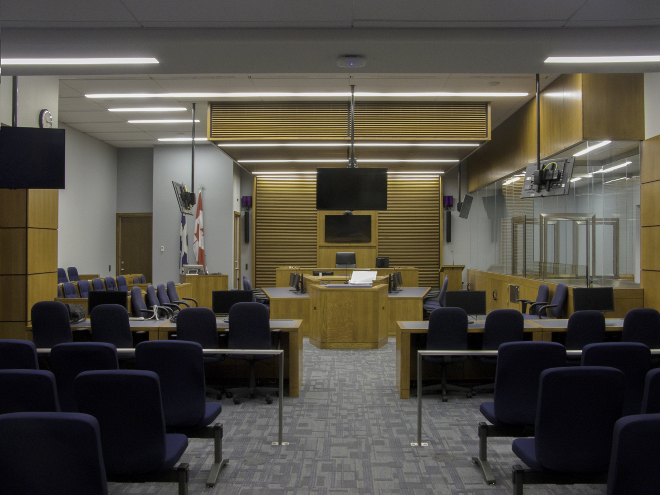 représentation à la cour